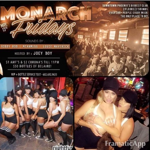 Monarch Fridays